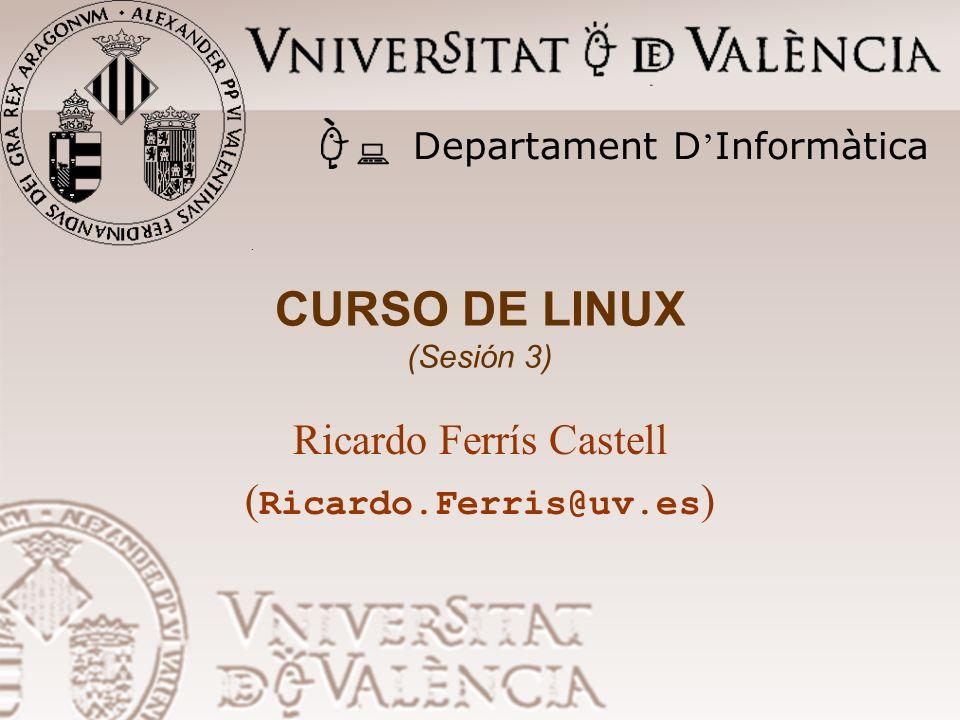 CURSO DE LINUX (Sesión 3)