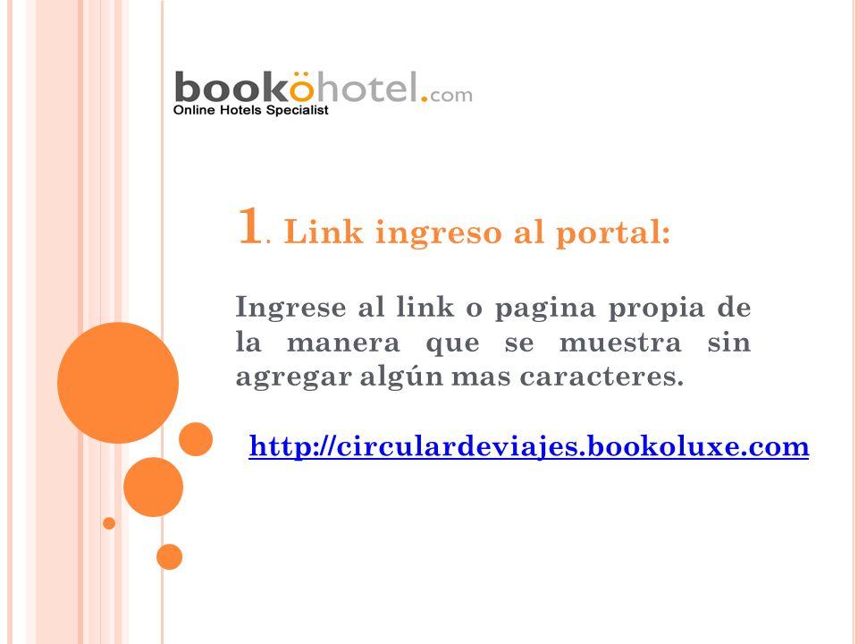 1. Link ingreso al portal: