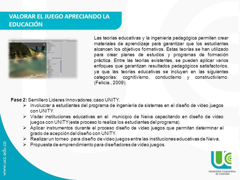 VALORAR EL JUEGO APRECIANDO LA EDUCACIÓN