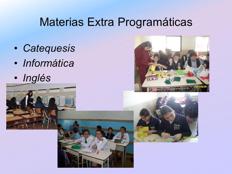Materias Extra Programáticas