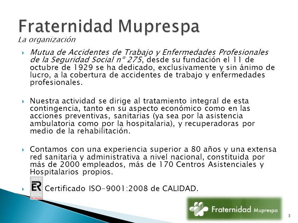 Fraternidad Muprespa La organización.