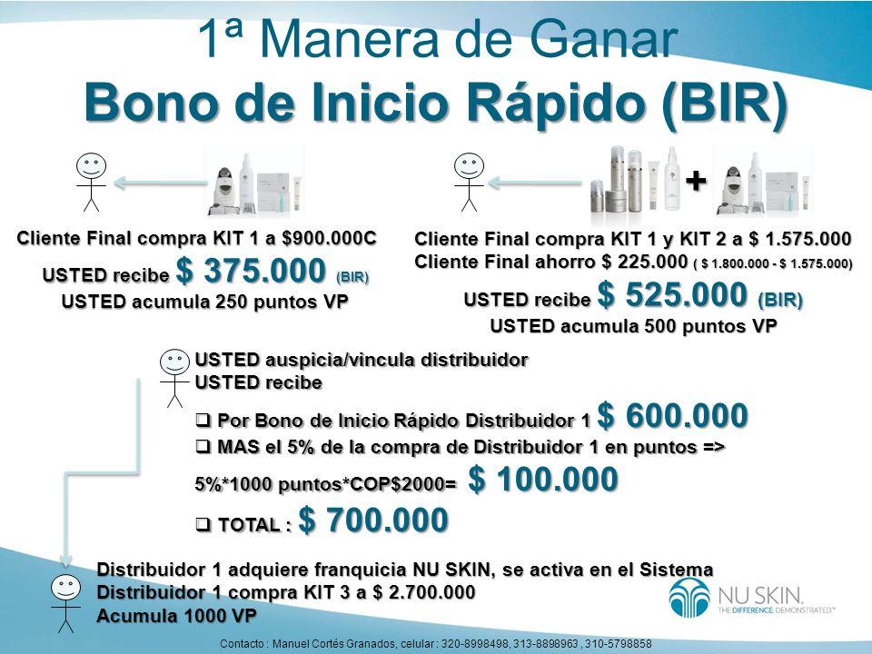 Bono de Inicio Rápido (BIR)