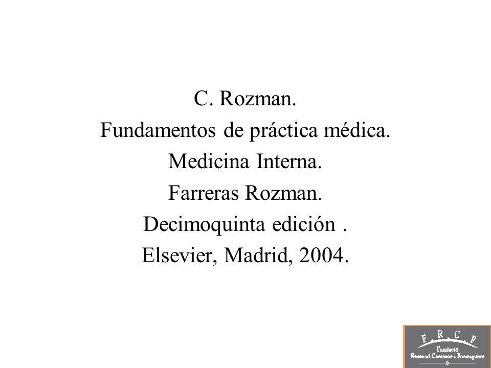 Fundamentos de práctica médica.