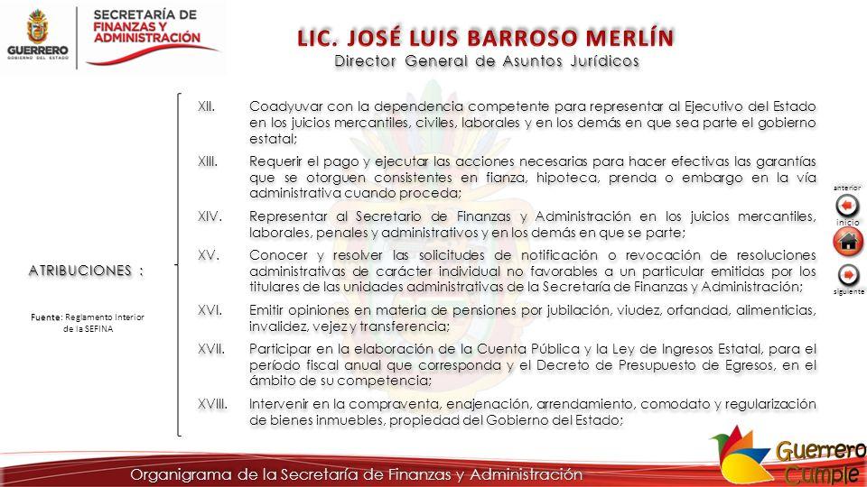 LIC. JOSÉ LUIS BARROSO MERLÍN
