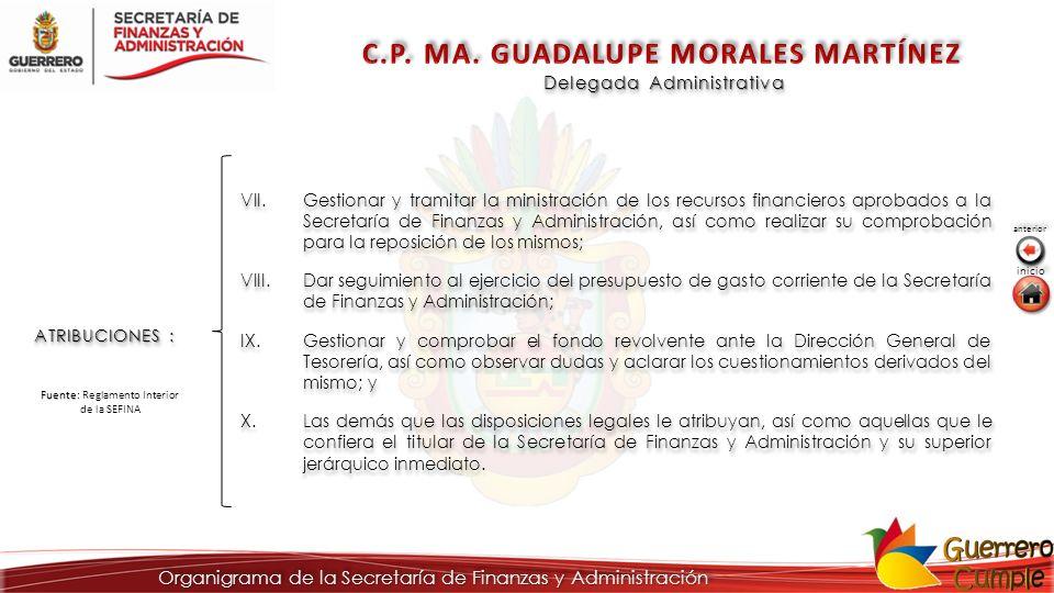 C.P. MA. GUADALUPE MORALES MARTÍNEZ