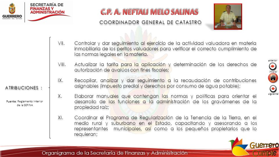 C.P. A. NEFTALI MELO SALINAS