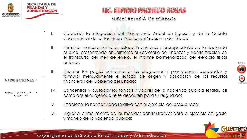 LIC. ELPIDIO PACHECO ROSAS
