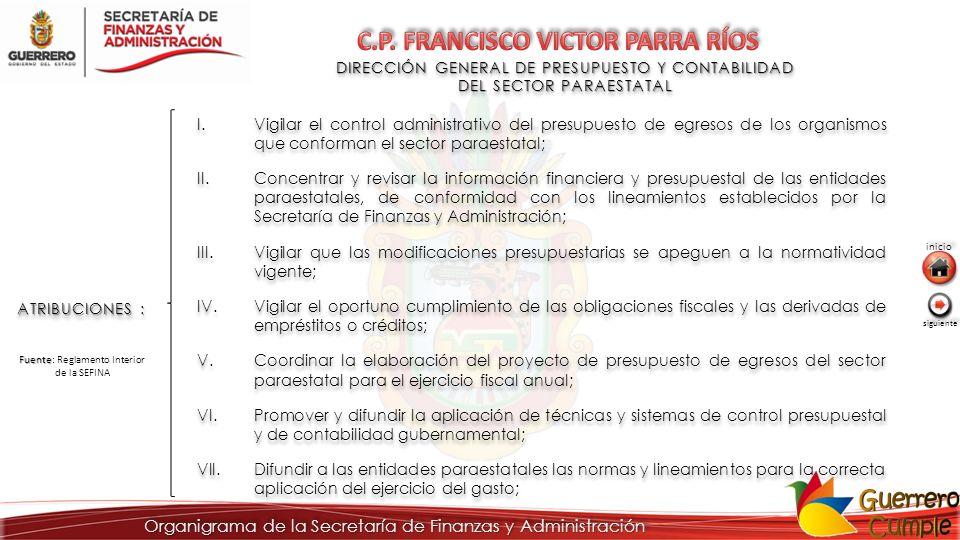 C.P. FRANCISCO VICTOR PARRA RÍOS