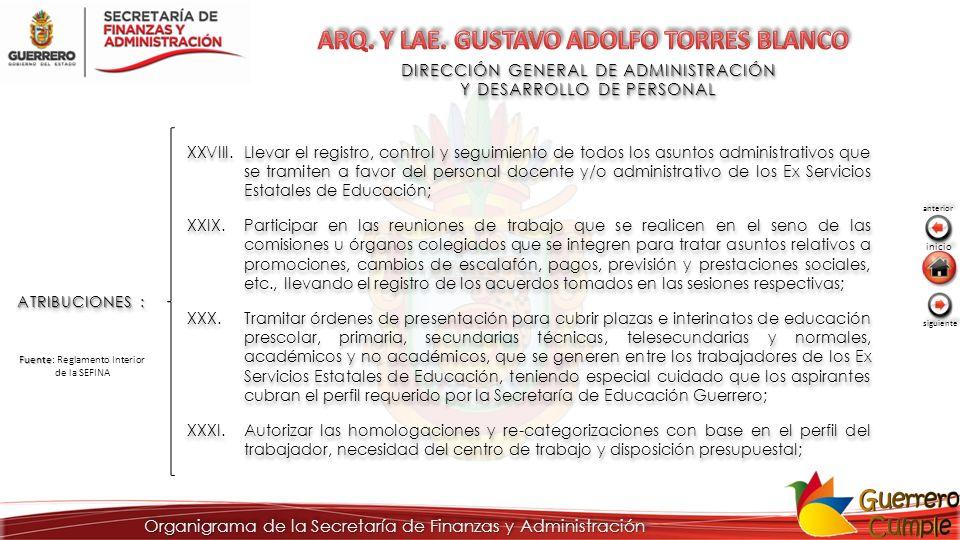 ARQ. Y LAE. GUSTAVO ADOLFO TORRES BLANCO