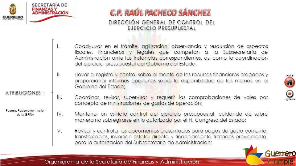 C.P. RAÚL PACHECO SÁNCHEZ