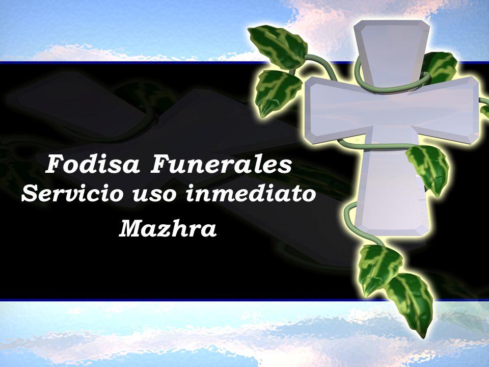 Servicio uso inmediato Mazhra