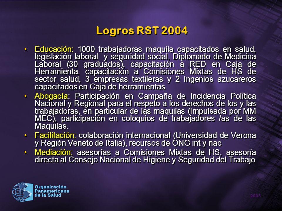 Logros RST 2004