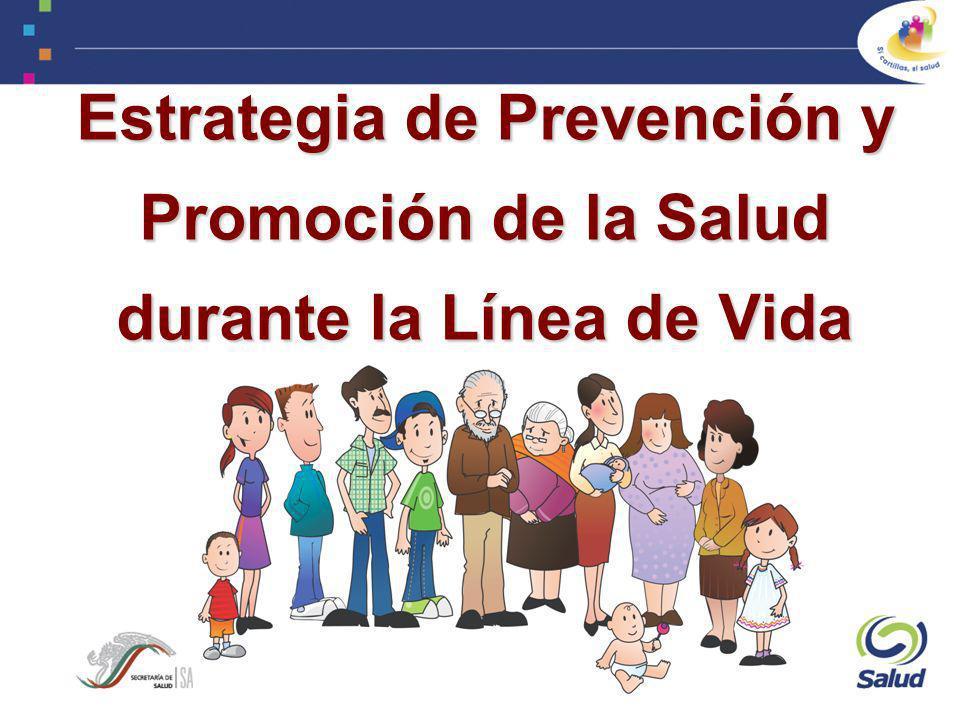 Estrategia de Prevención y Promoción de la Salud durante la Línea de Vida