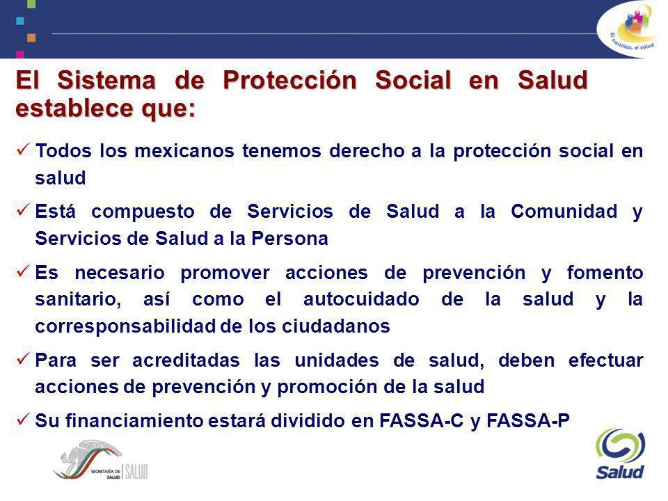 El Sistema de Protección Social en Salud establece que: