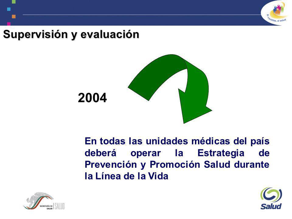 2004 Supervisión y evaluación