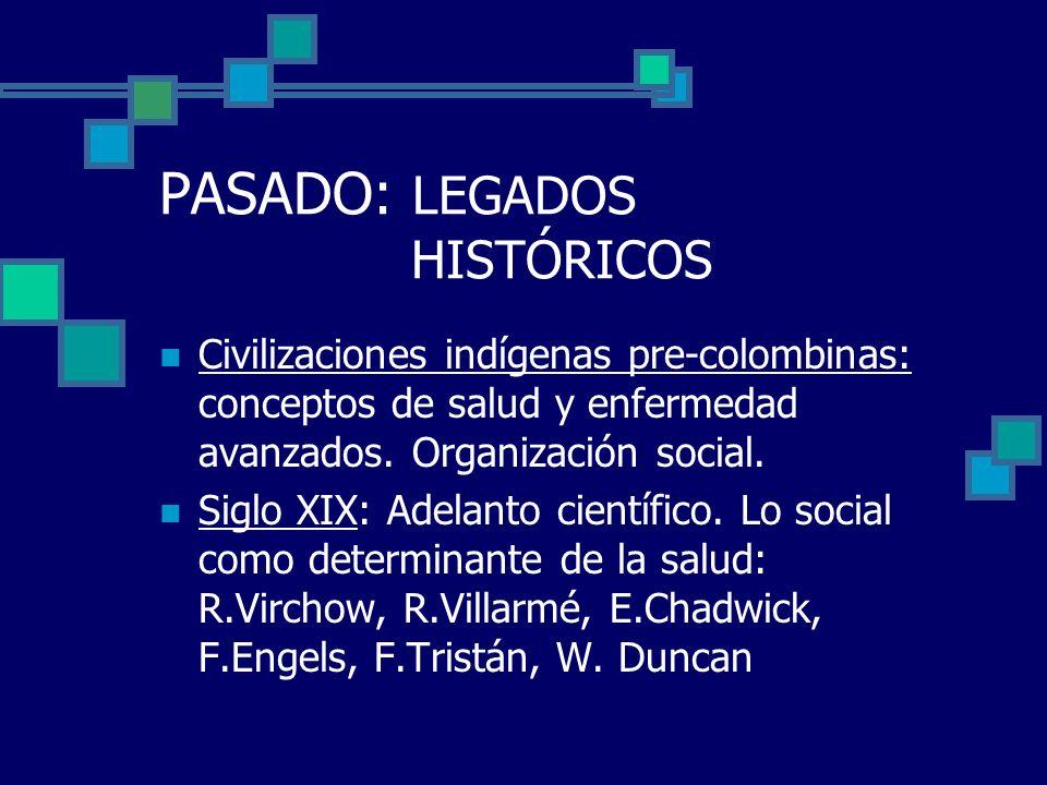 PASADO: LEGADOS HISTÓRICOS