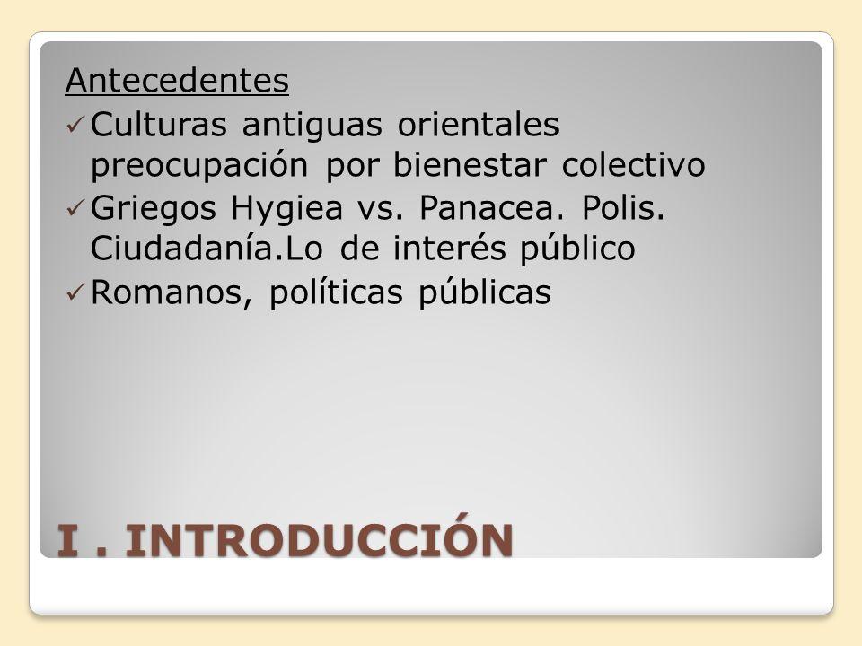 I . INTRODUCCIÓN Antecedentes