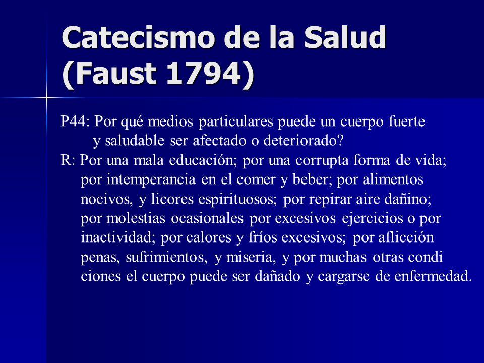 Catecismo de la Salud (Faust 1794)