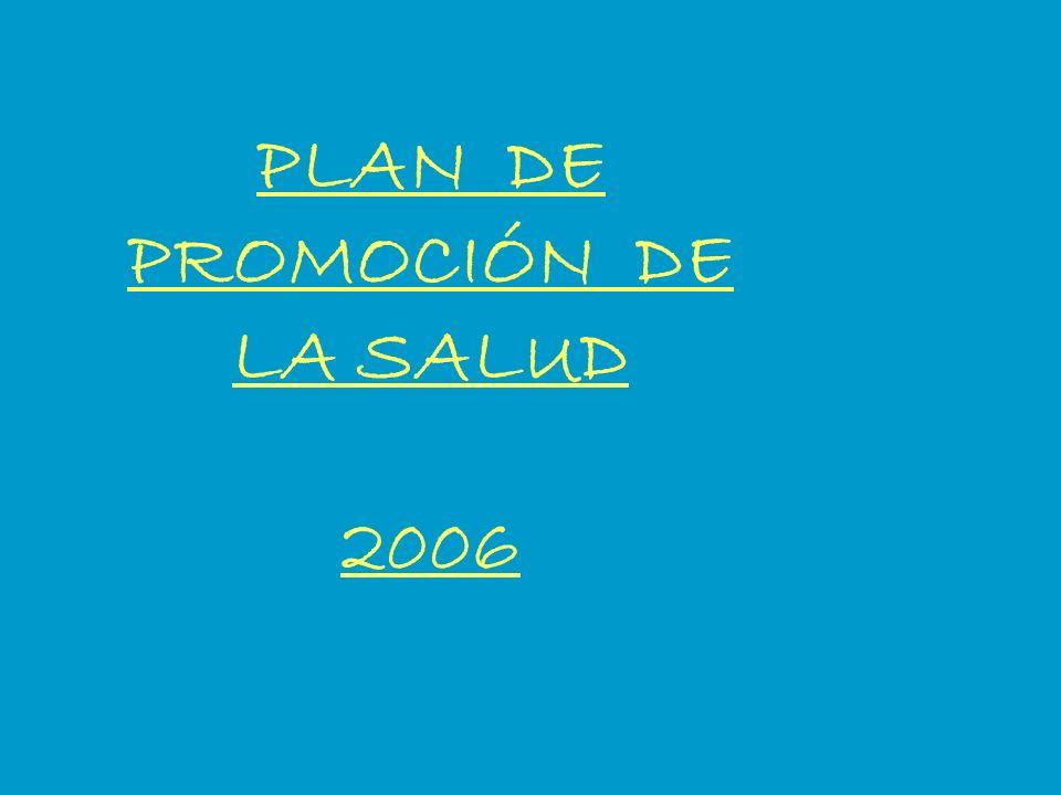 PLAN DE PROMOCIÓN DE LA SALUD 2006