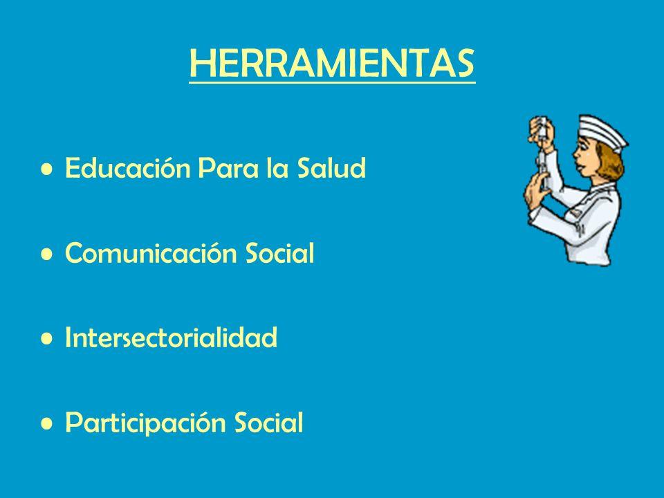HERRAMIENTAS Educación Para la Salud Comunicación Social