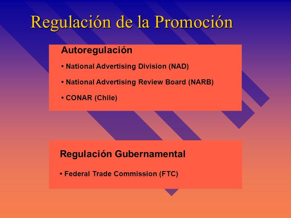 Regulación de la Promoción