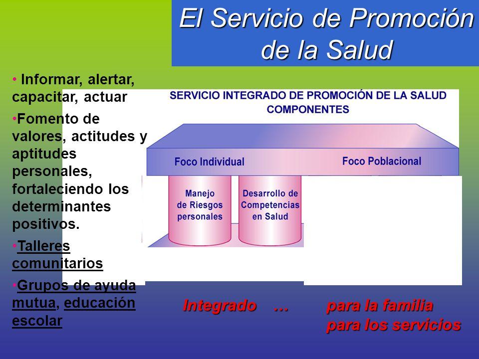 El Servicio de Promoción de la Salud