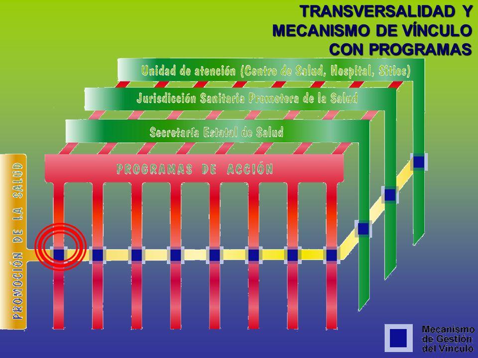 TRANSVERSALIDAD Y MECANISMO DE VÍNCULO
