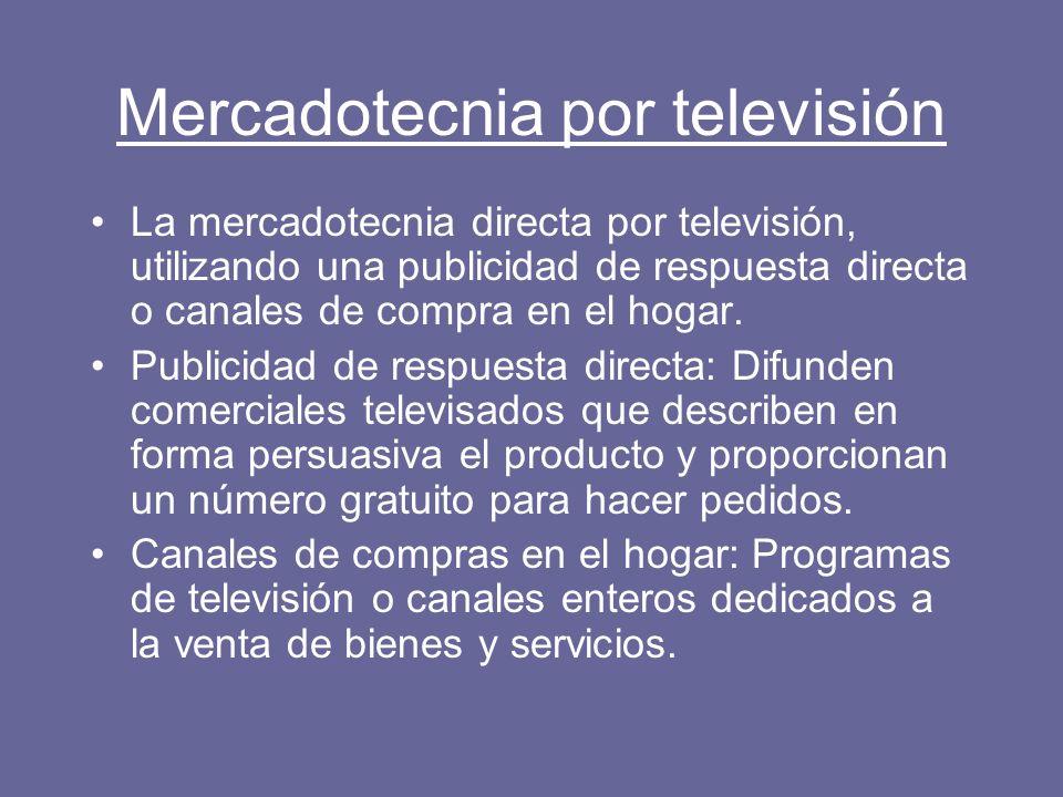 Mercadotecnia por televisión