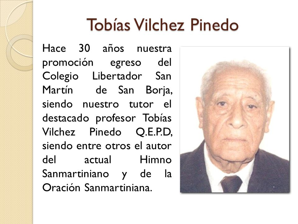 Tobías Vilchez Pinedo