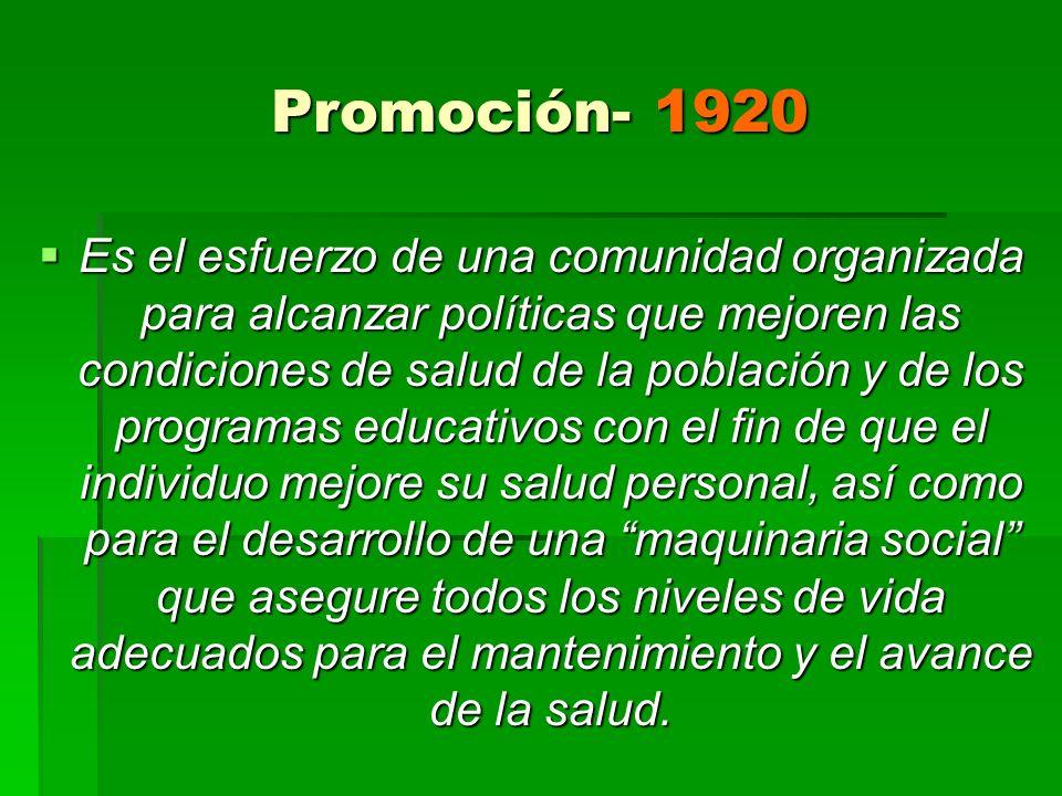 Promoción- 1920