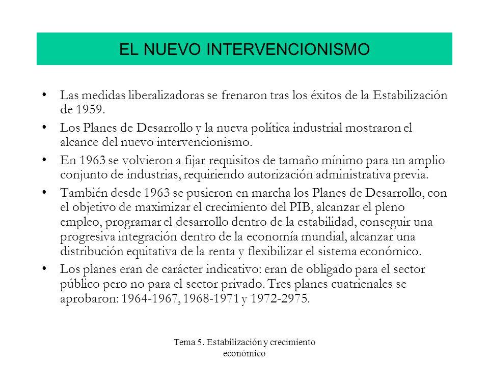 EL NUEVO INTERVENCIONISMO