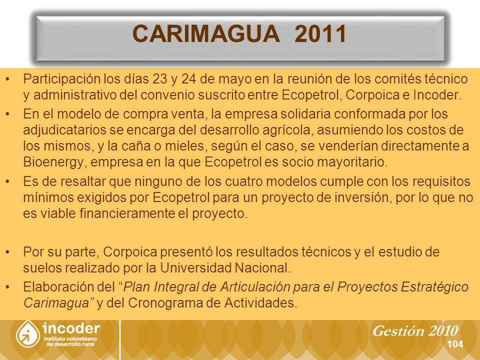 CARIMAGUA 2011