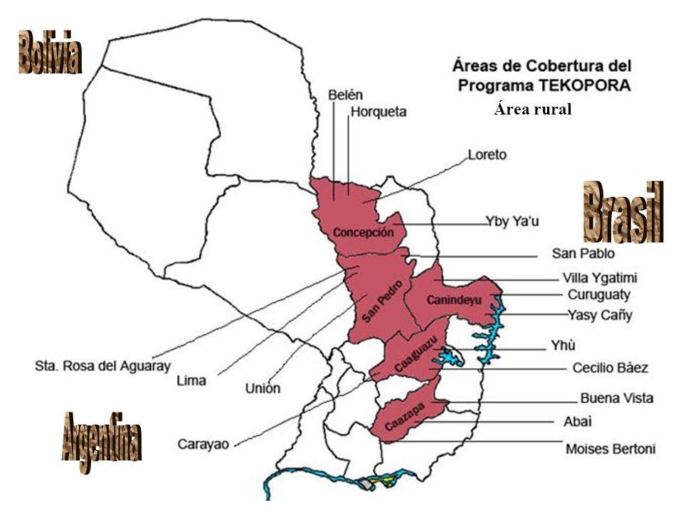 Bolivia Área rural Brasil Argentina