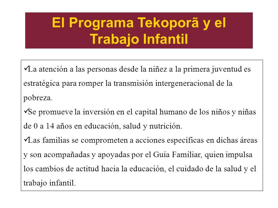 El Programa Tekoporã y el Trabajo Infantil