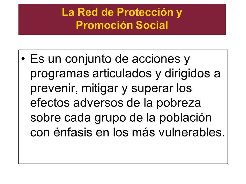 La Red de Protección y Promoción Social