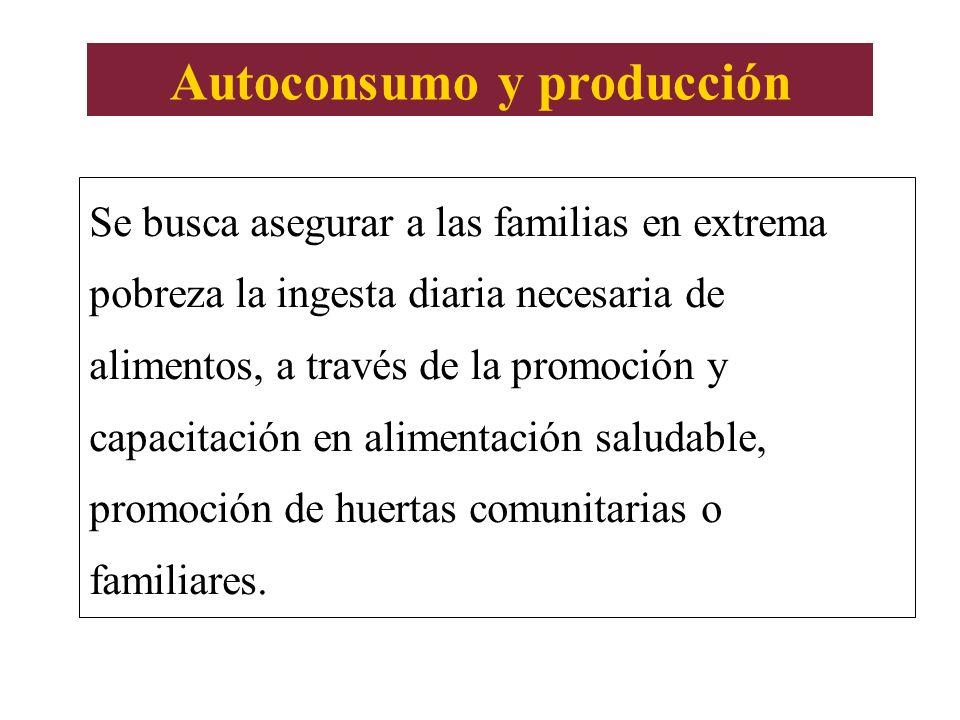 Autoconsumo y producción