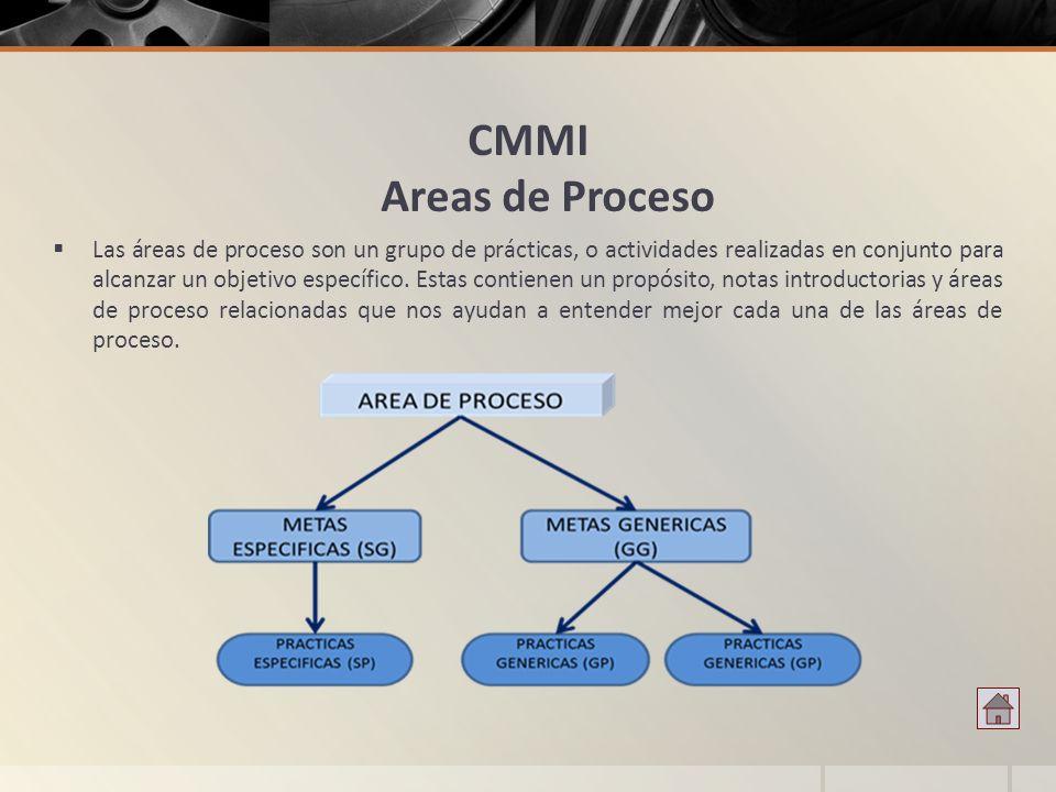 CMMI Areas de Proceso