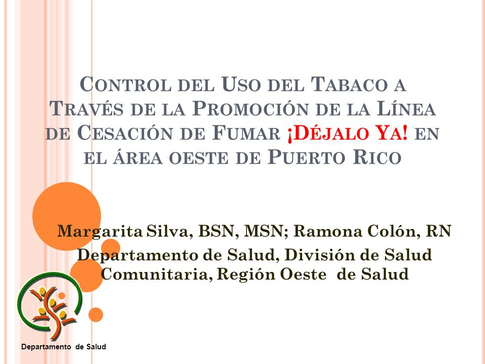 Margarita Silva, BSN, MSN; Ramona Colón, RN