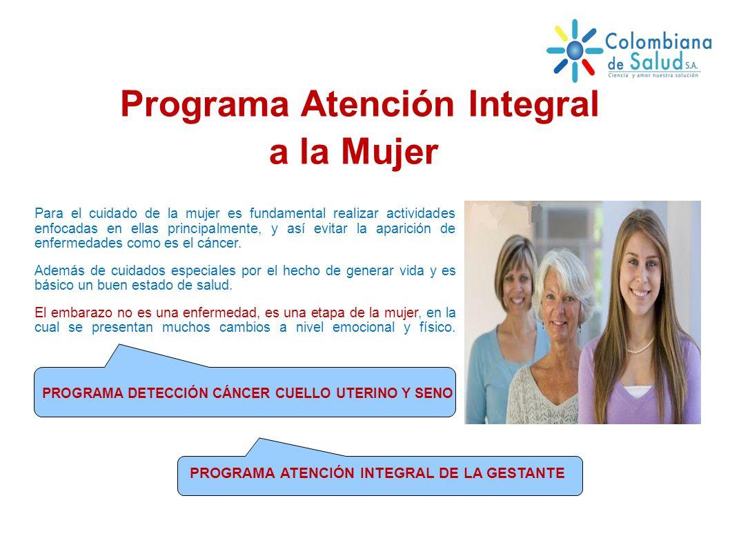 Programa Atención Integral a la Mujer
