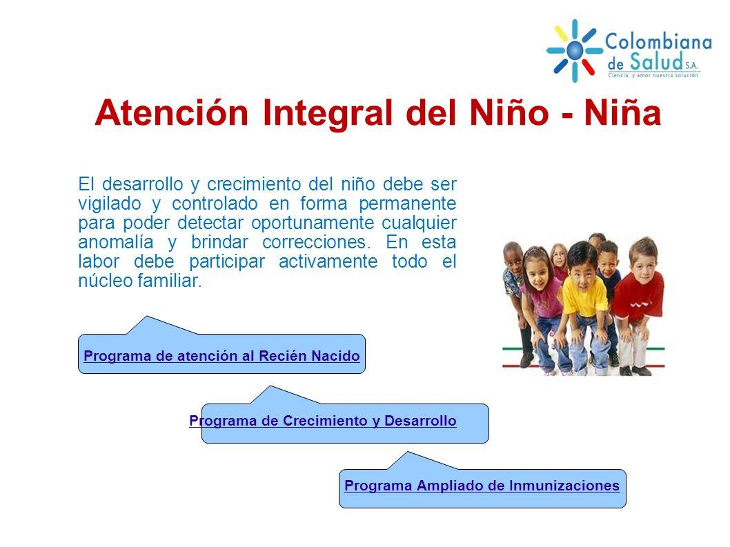 Atención Integral del Niño - Niña
