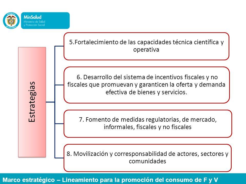 5.Fortalecimiento de las capacidades técnica científica y operativa