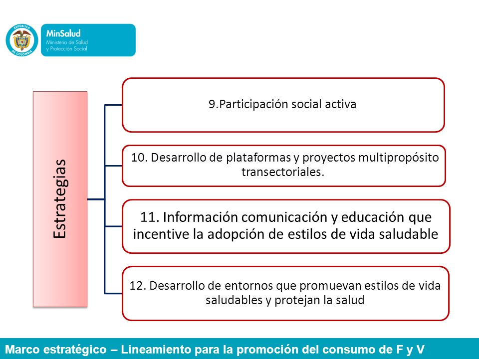 9.Participación social activa