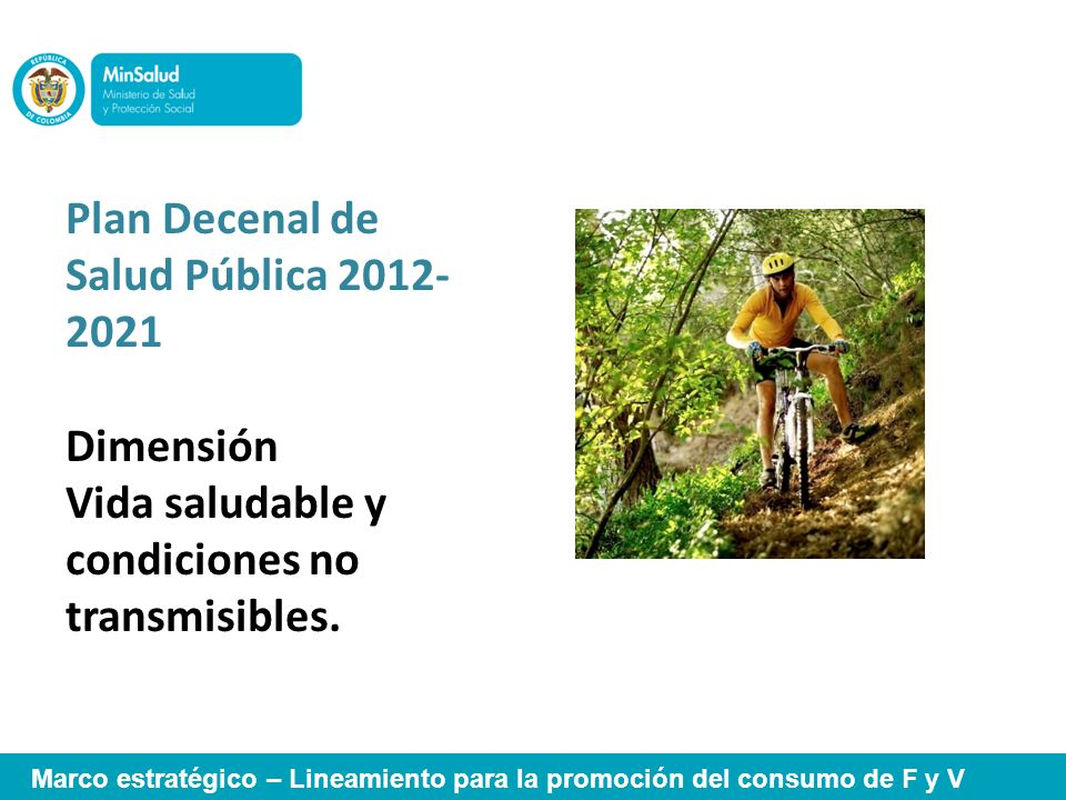 Plan Decenal de Salud Pública 2012-2021