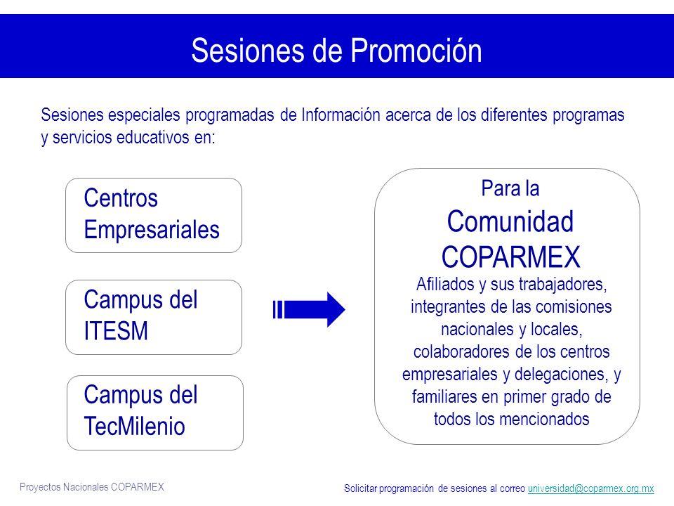 Para la Comunidad COPARMEX