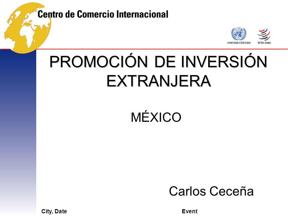 PROMOCIÓN DE INVERSIÓN EXTRANJERA