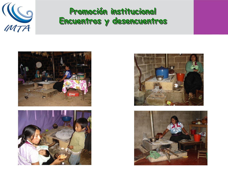 Promoción institucional Encuentros y desencuentros