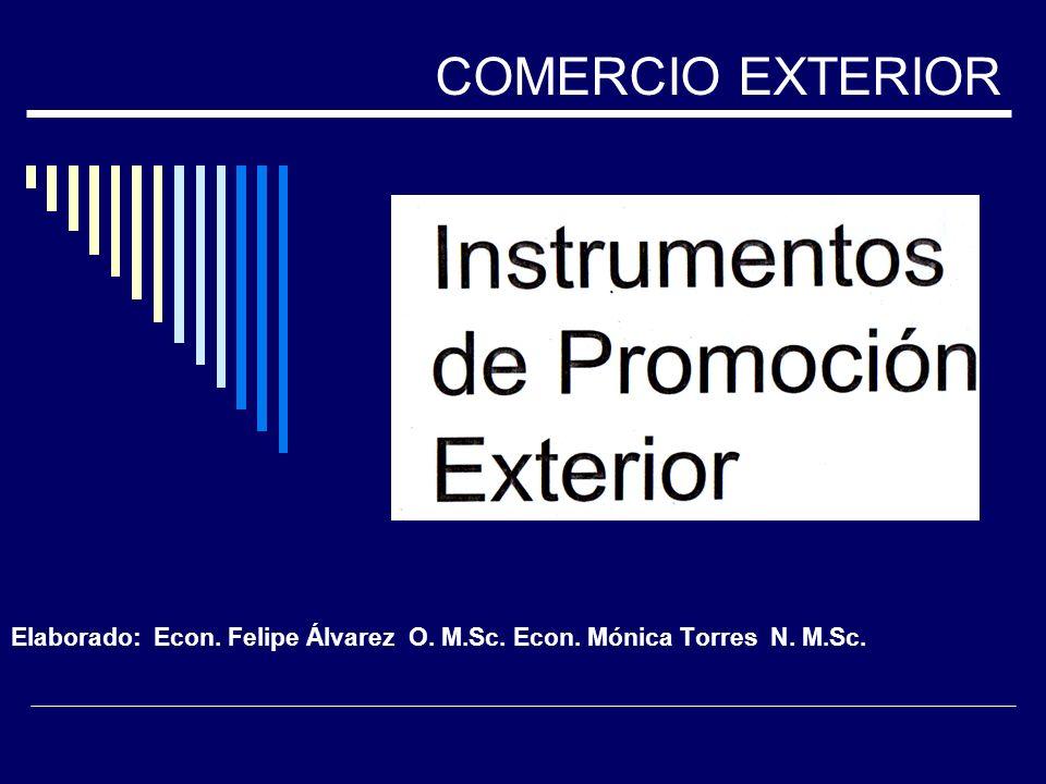 Elaborado: Econ. Felipe Álvarez O. M.Sc. Econ. Mónica Torres N. M.Sc.