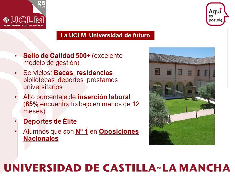 La UCLM, Universidad de futuro