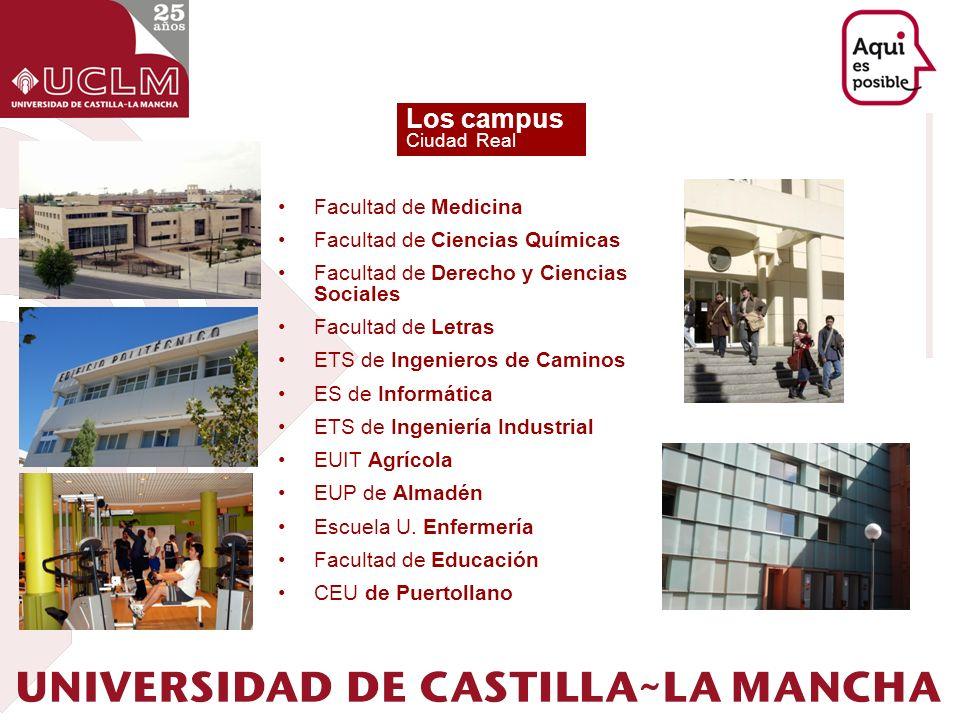 Los campus Facultad de Medicina Facultad de Ciencias Químicas