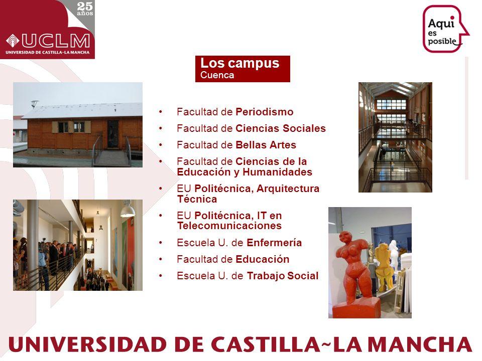 Los campus Facultad de Periodismo Facultad de Ciencias Sociales